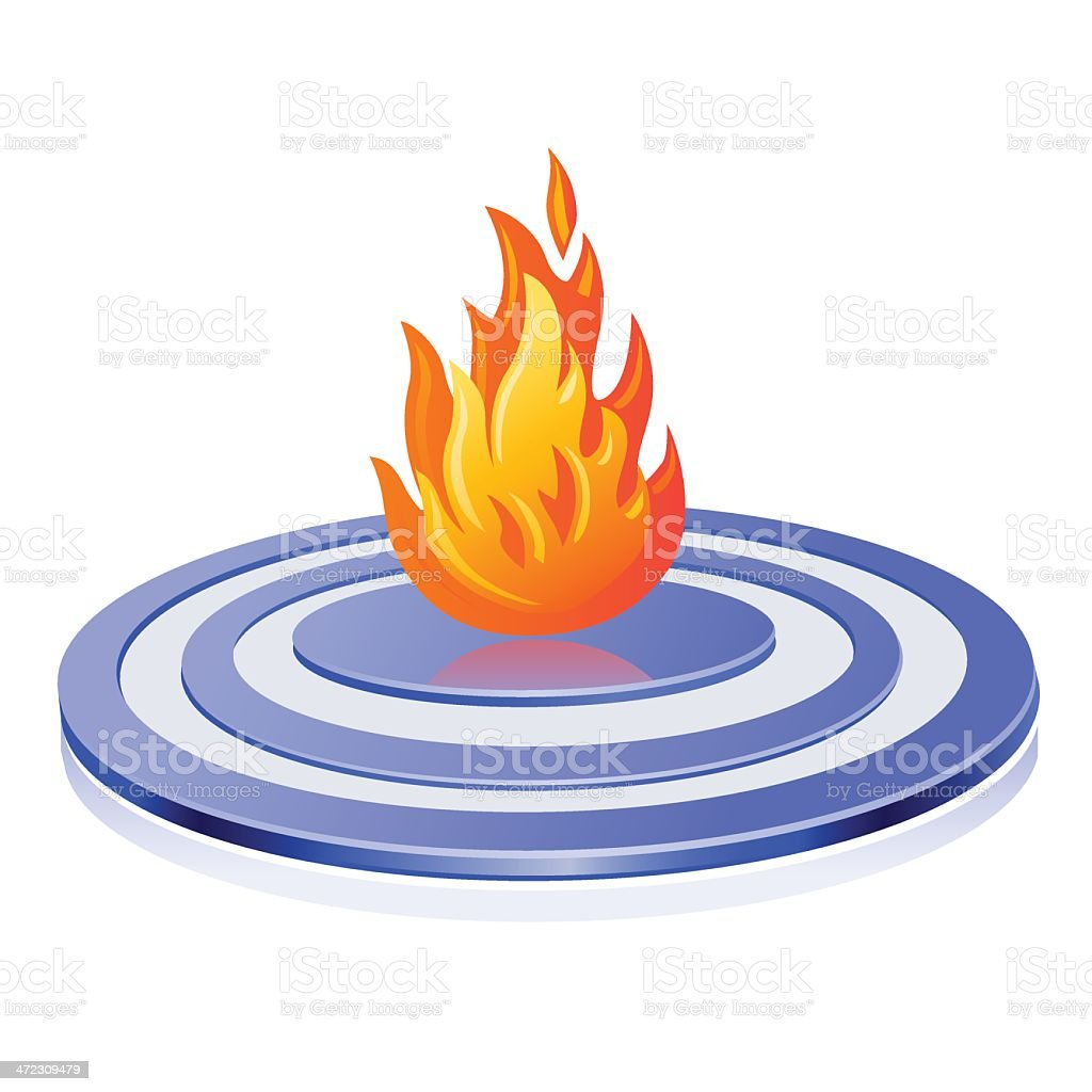 Difficult targets royalty-free stock vector art