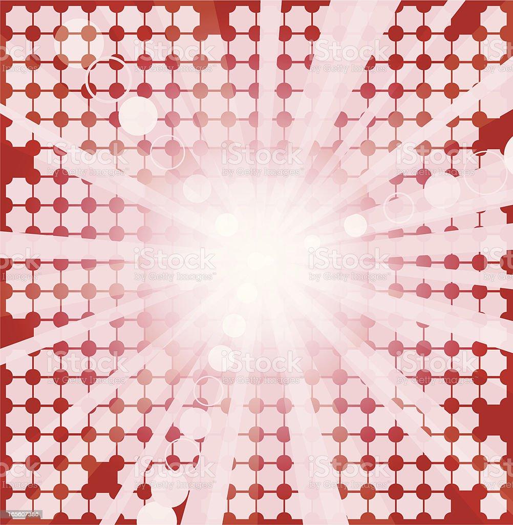 Digital Abstract vector art illustration