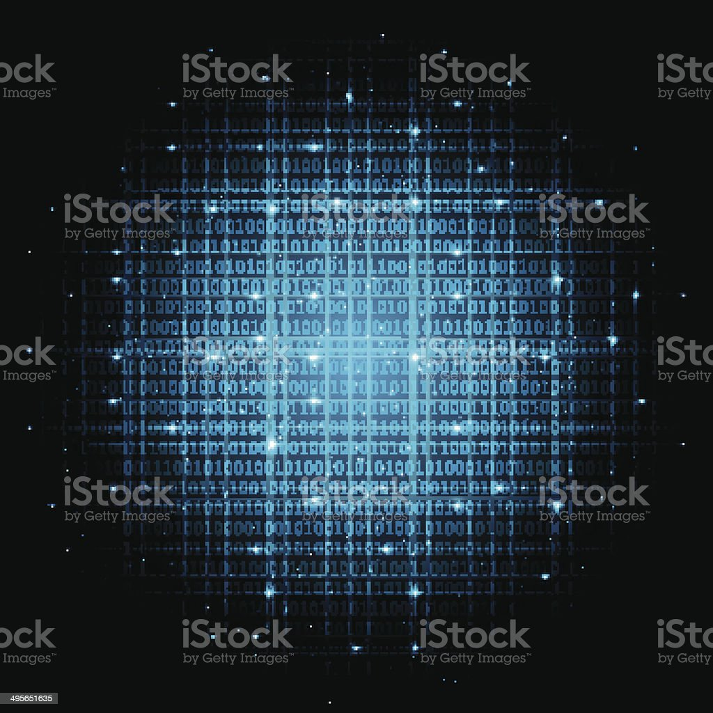 digital background vector art illustration