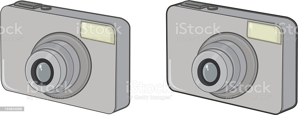 Digital Camera royalty-free stock vector art