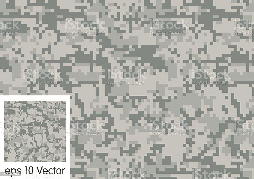 Digital Camouflage pattern vector vector art illustration