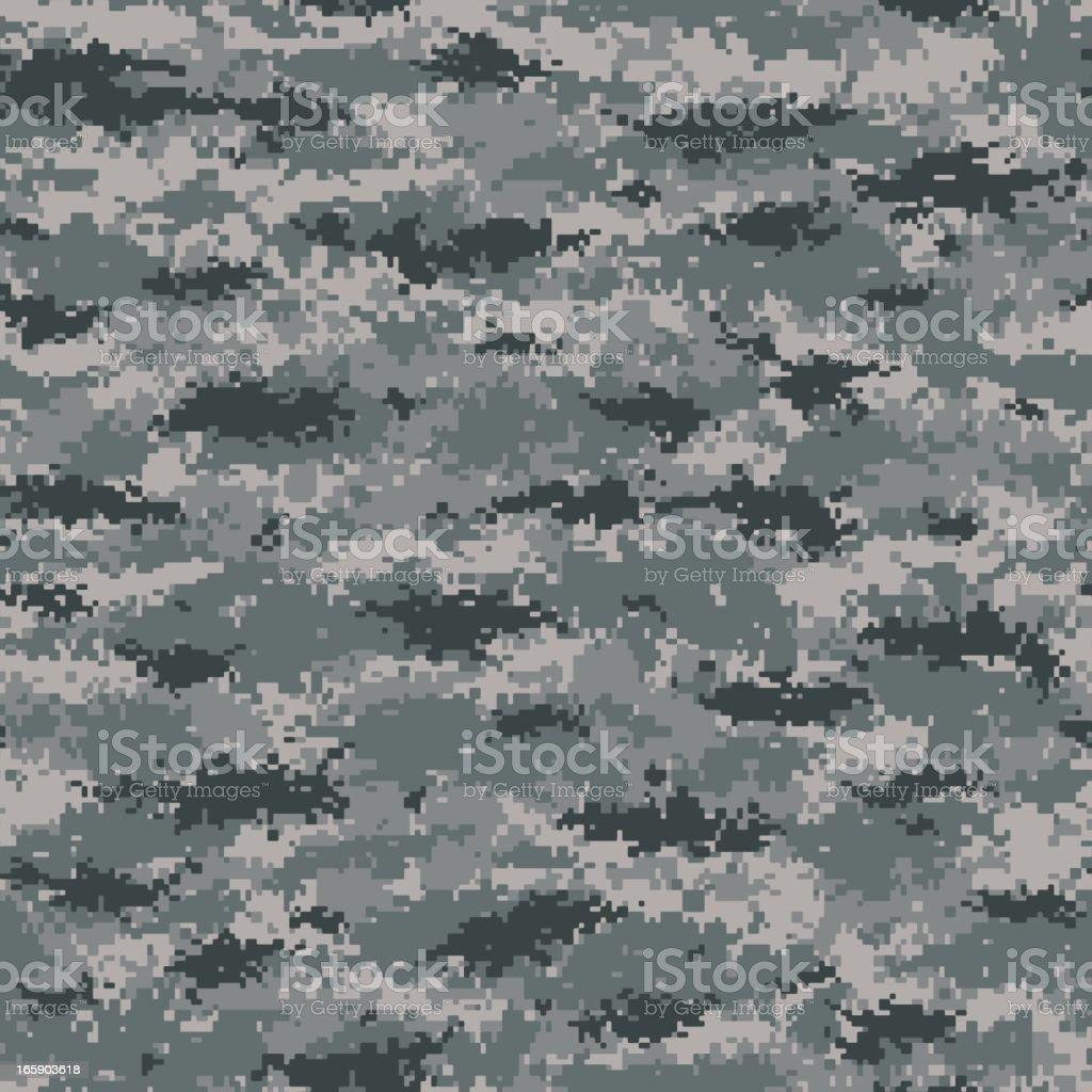 Digital Camouflage (MARPAT Style) - Seamless Tile vector art illustration