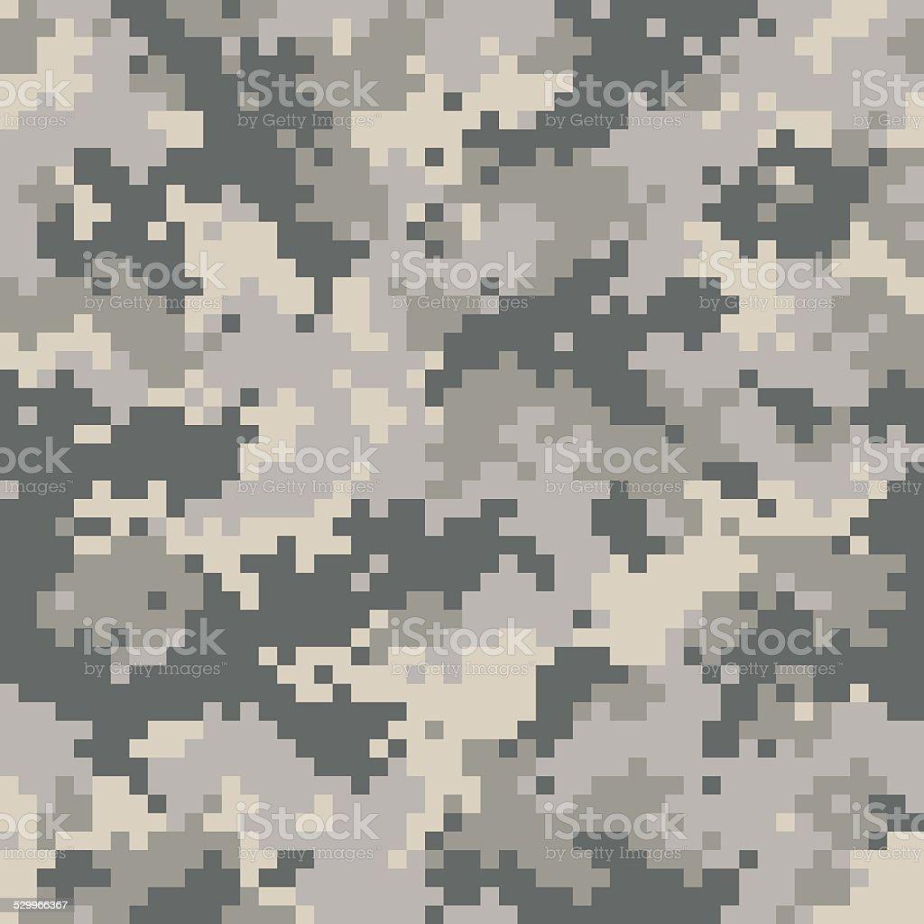 Digital camouflage seamless vector art illustration