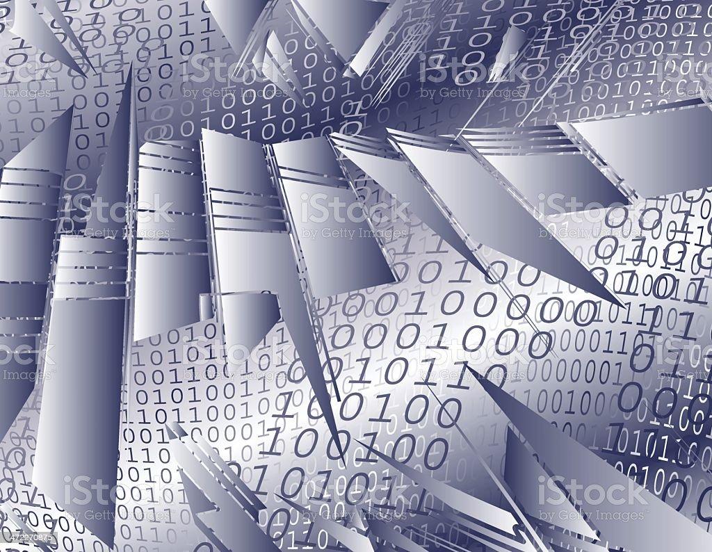 Digital Divide royalty-free stock vector art