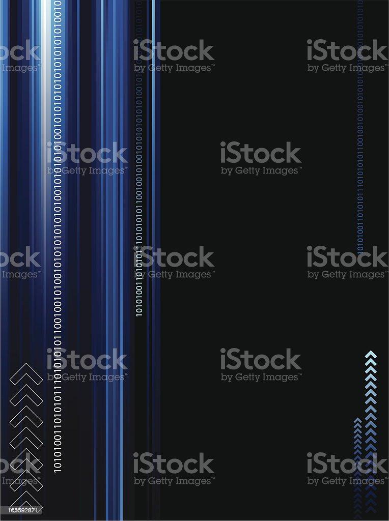Digital Matrix Abstract royalty-free stock vector art