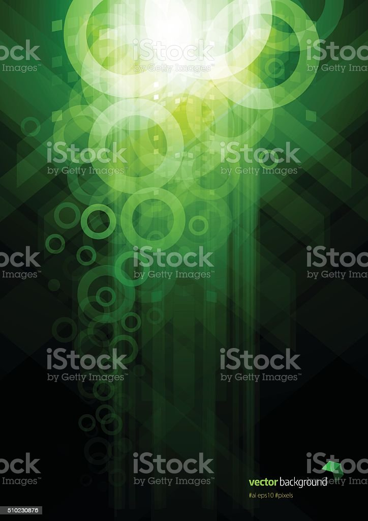 Digital Pixels background design vector art illustration