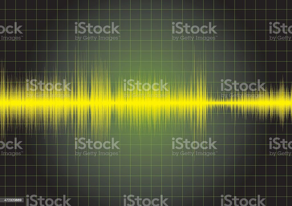 digital sound wave royalty-free stock vector art