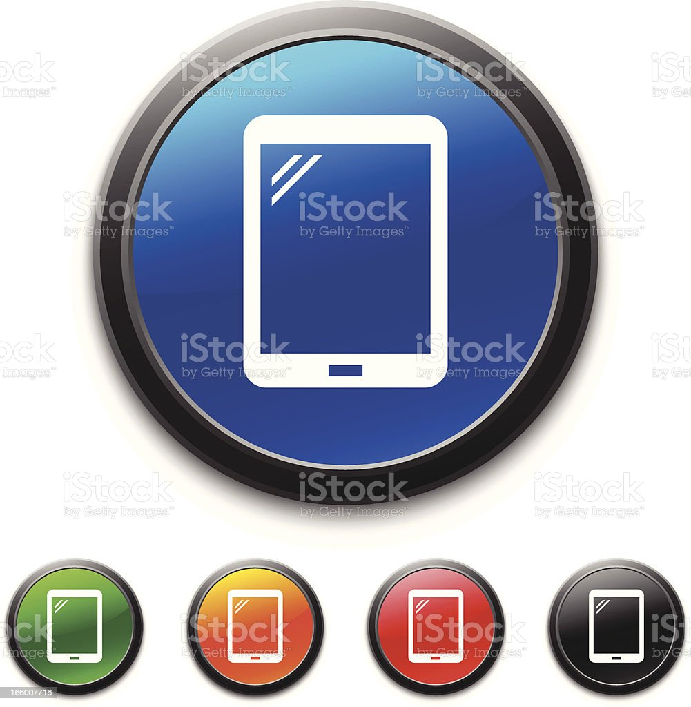 Digital Tablet icon royalty-free stock vector art
