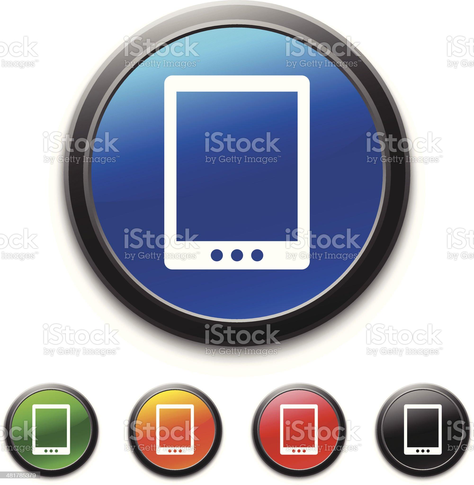Digital Tablet icon royalty-free stock vector art