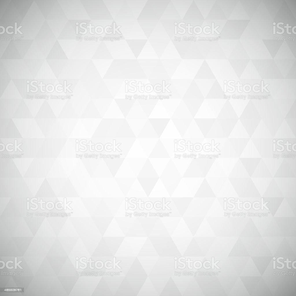 Digital triangle pixel mosaic vector art illustration