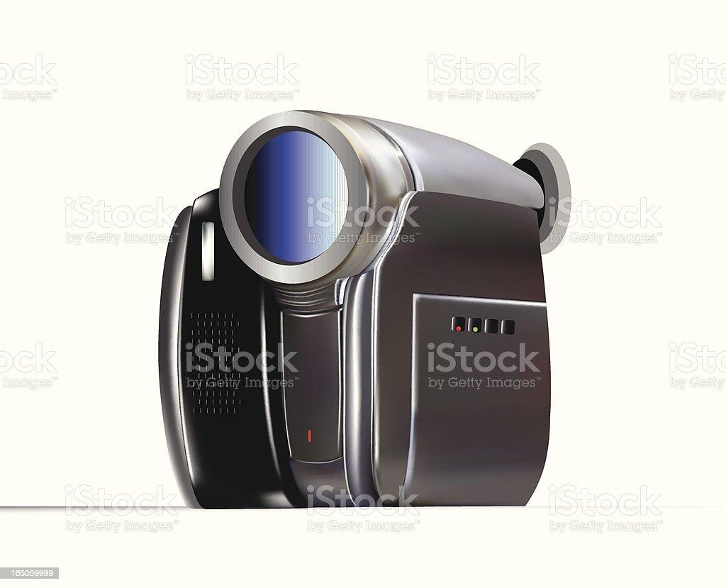 Digital Video Camera - VECTOR royalty-free stock vector art