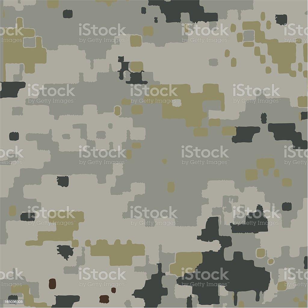 Digi-Urban Camouflage royalty-free stock vector art