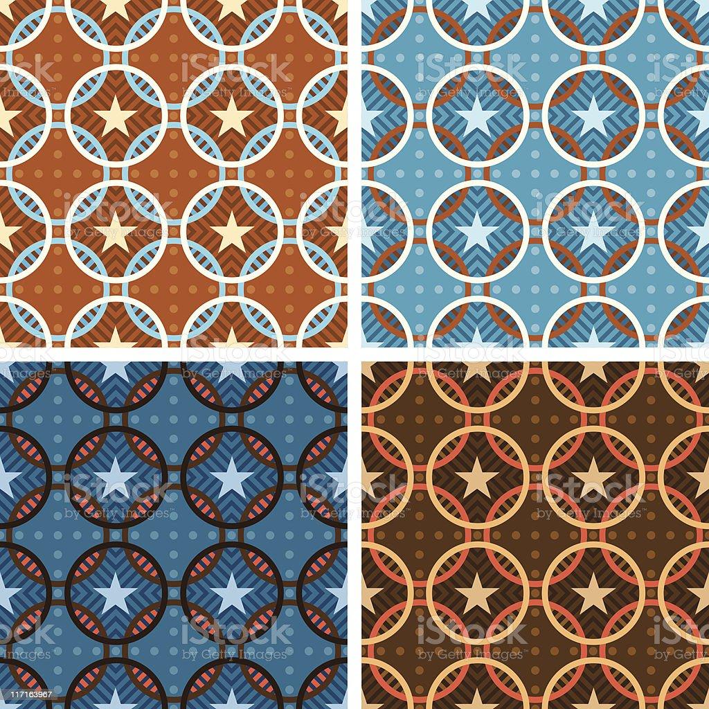 DiMarino Pattern (Seamless) vector art illustration