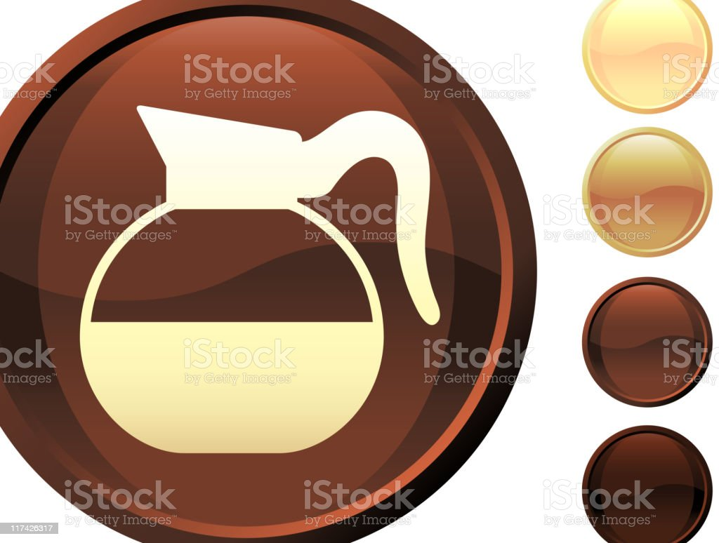 Dinner coffee pot internet royalty free vector art royalty-free stock vector art