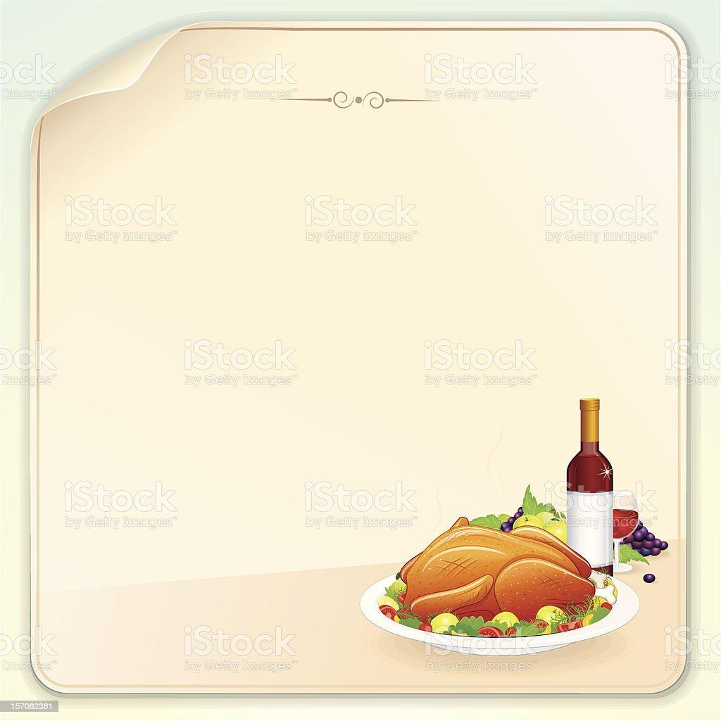 Dinner royalty-free stock vector art