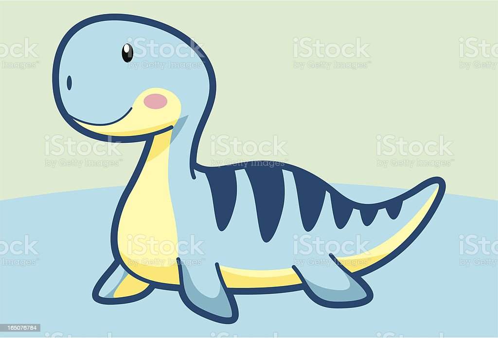 Dinosaur Cartoon vector art illustration