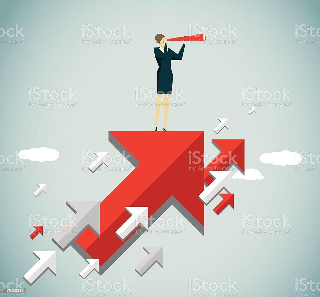 Direction-Illustration vector art illustration