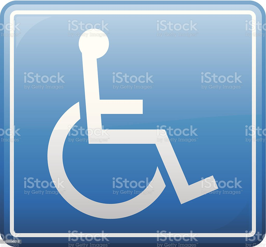 Disabled Symbol royalty-free stock vector art