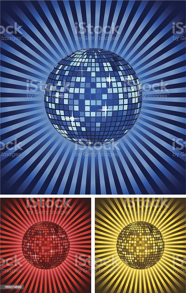 Disco ball . royalty-free stock vector art