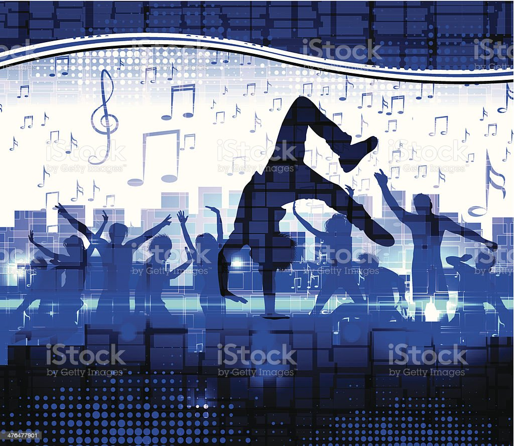 Disco party royalty-free stock vector art