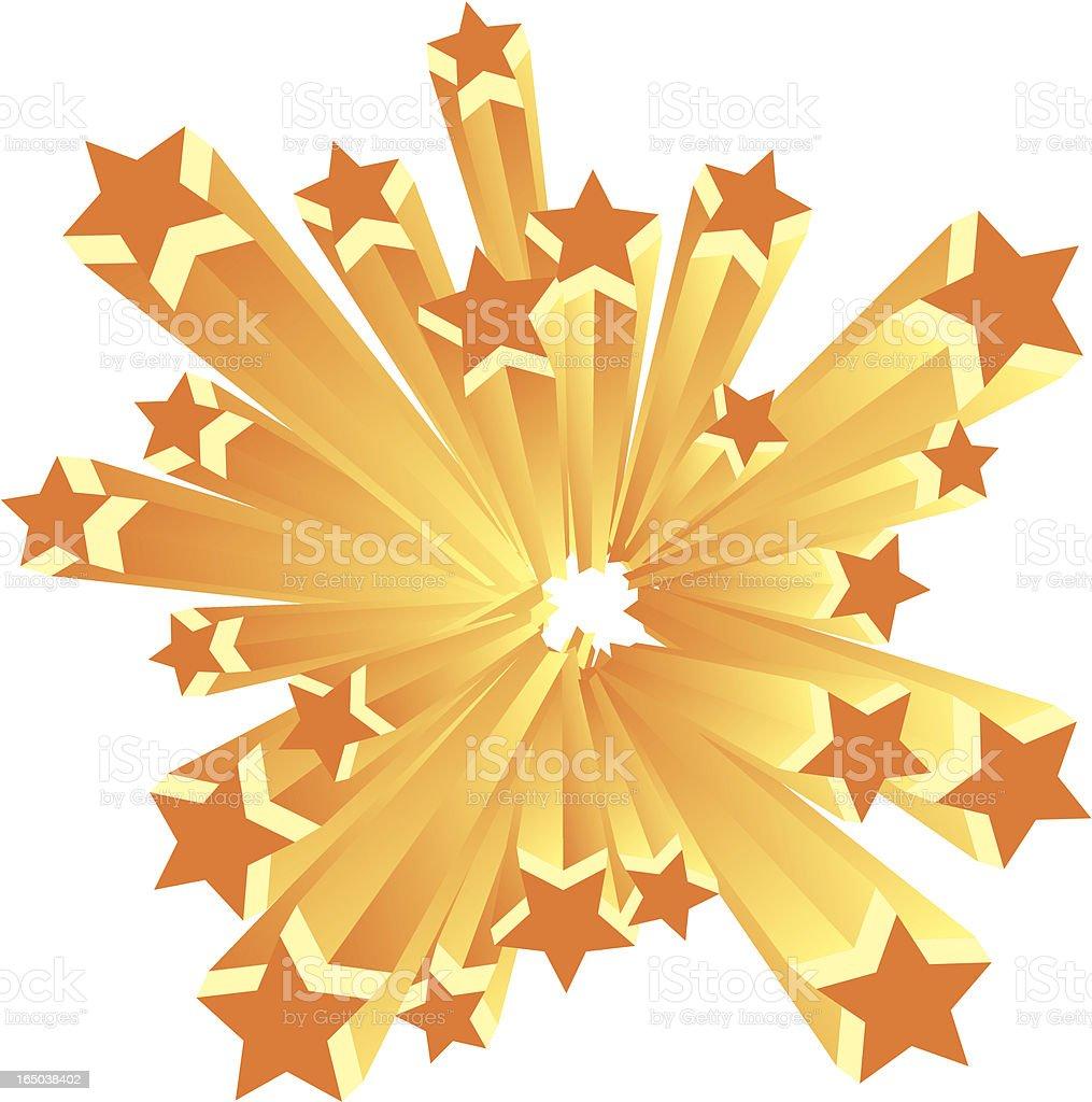 Disco Stars (Vector) royalty-free stock vector art
