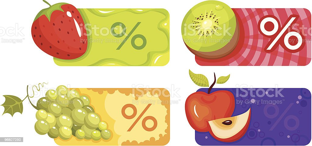 discount set royalty-free stock vector art