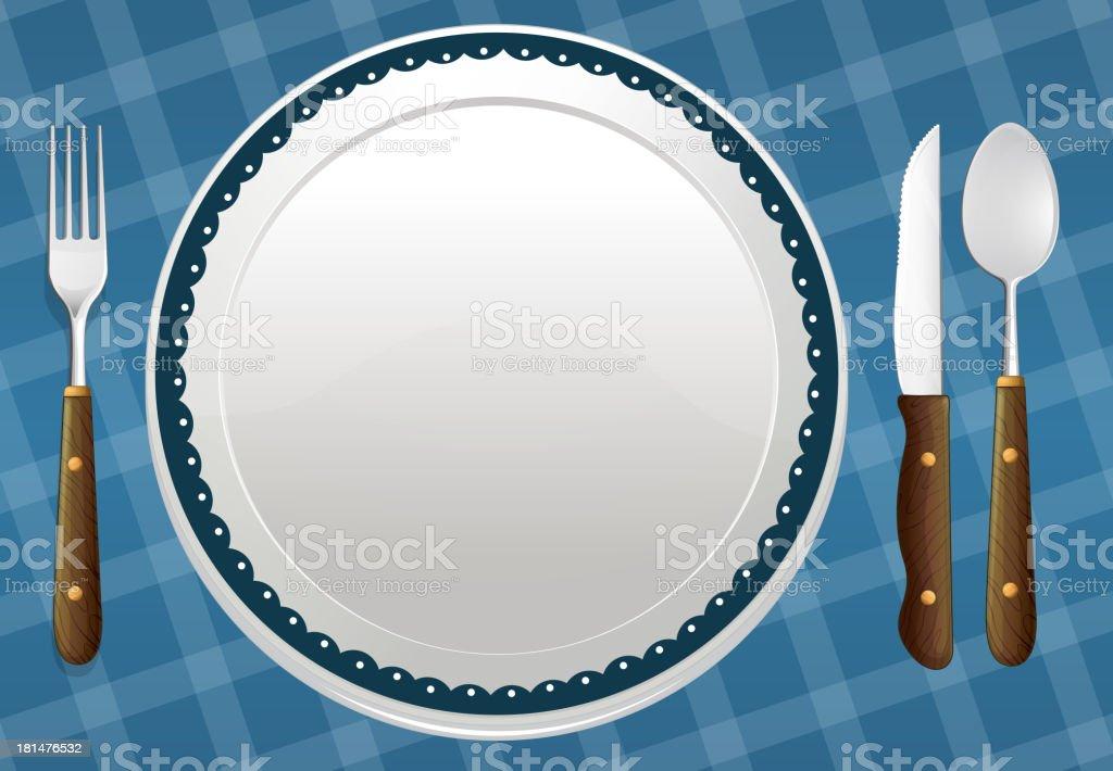 dish royalty-free stock vector art
