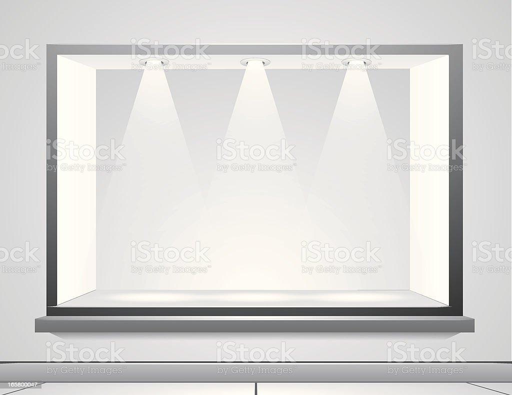 Display Window royalty-free stock vector art