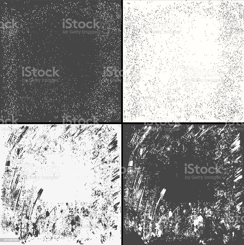 Distress Overlay Texture For Your Design. grunge background. vector art illustration