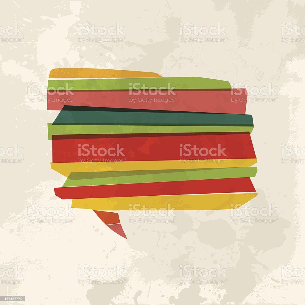 Diversity transparent communication royalty-free stock vector art