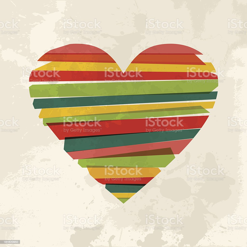Diversity transparent love royalty-free stock vector art