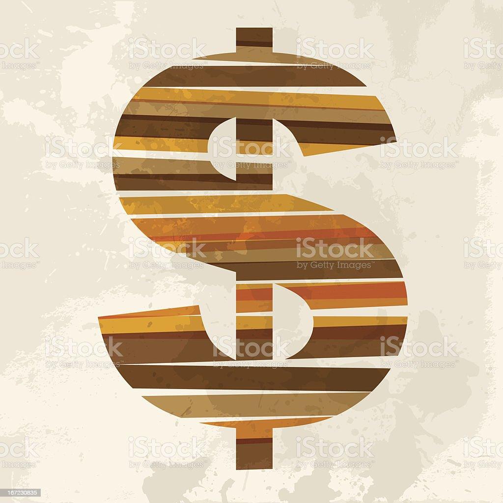 Diversity transparent money royalty-free stock vector art