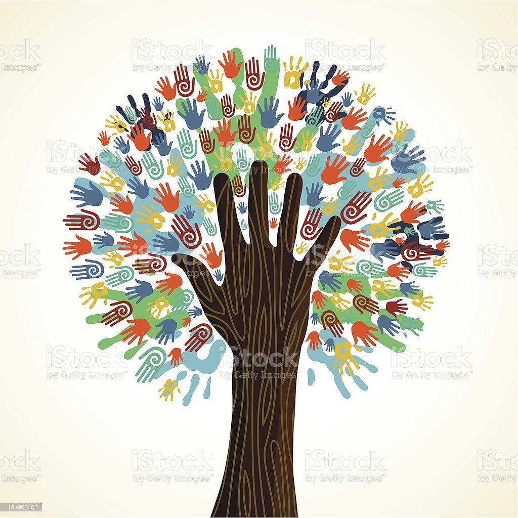 Картинки деревьев своими руками
