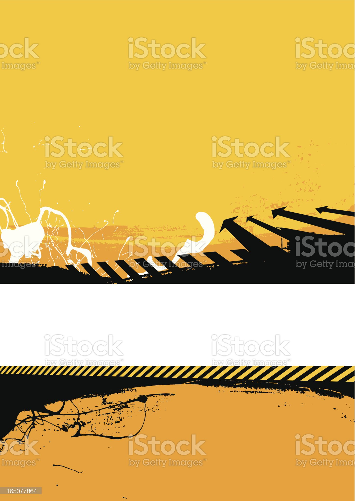 divided background royalty-free stock vector art