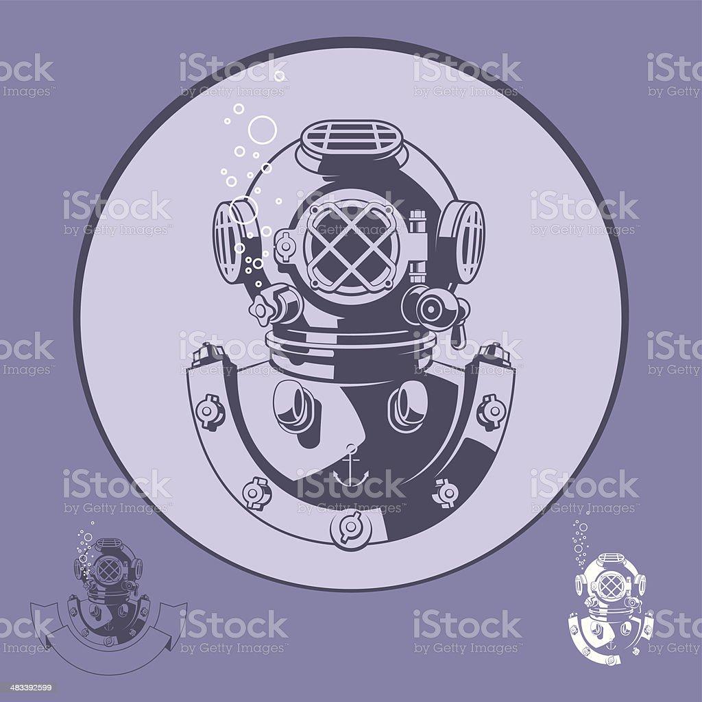 diving royalty-free stock vector art