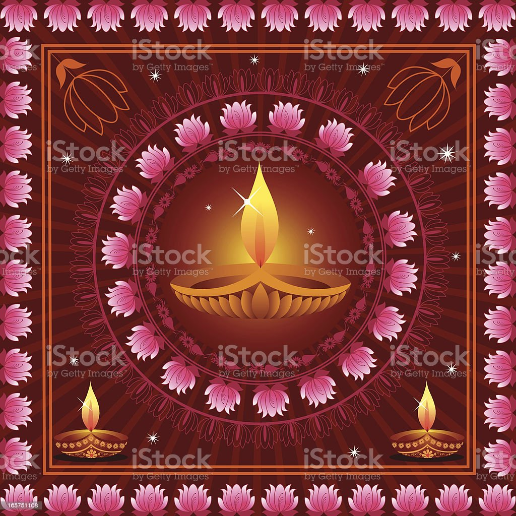 Diwali Background royalty-free stock vector art