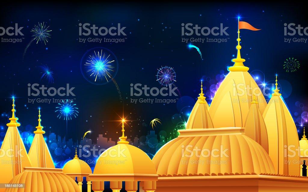 Diwali Night royalty-free stock vector art