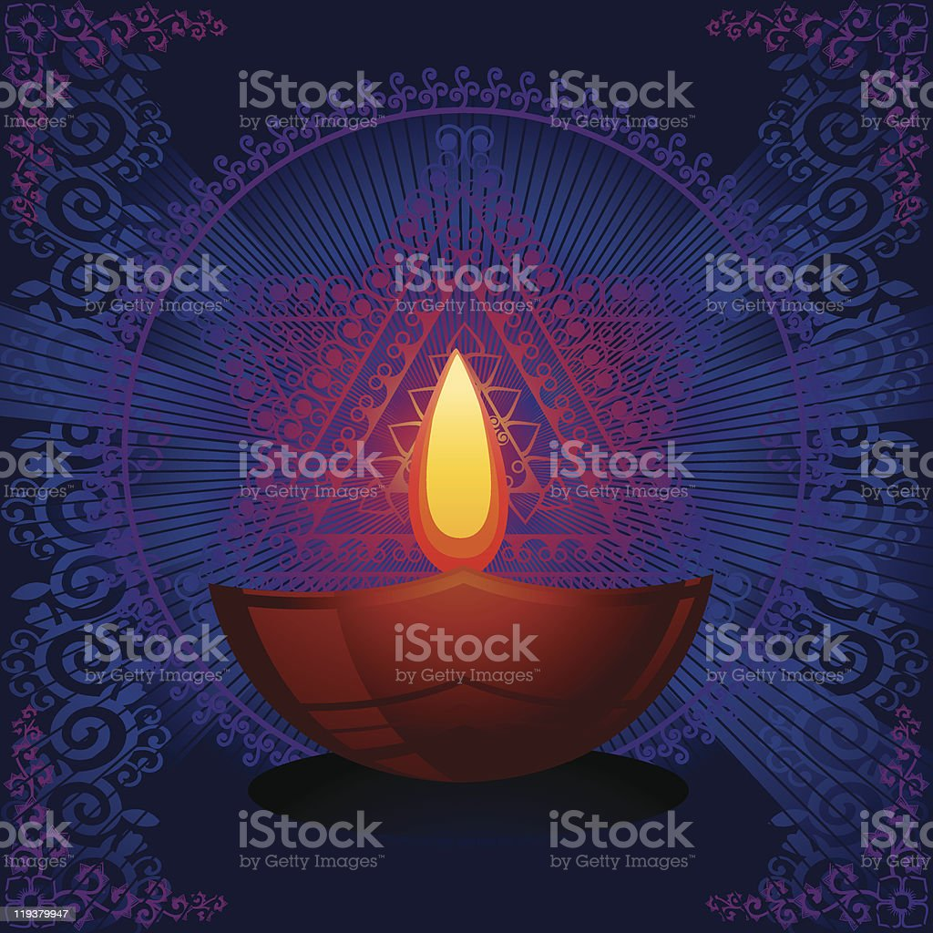 Diwali royalty-free stock vector art