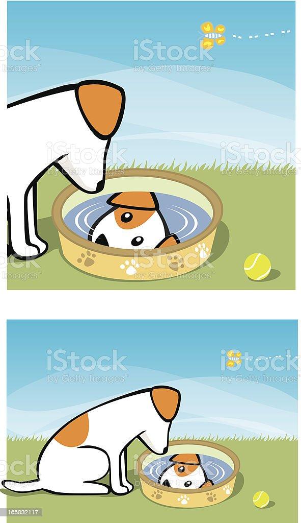 Do a little reflection... royalty-free stock vector art