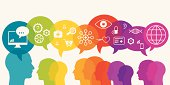 Doctor And Patients Communicate Using Internet
