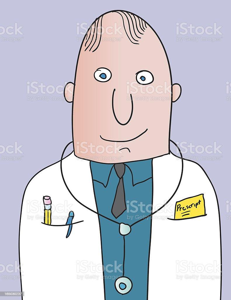 doctor prescription royalty-free stock vector art