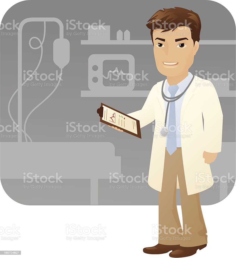 Doctor royalty-free stock vector art