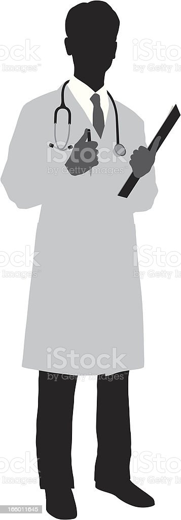 Doctor vector art illustration