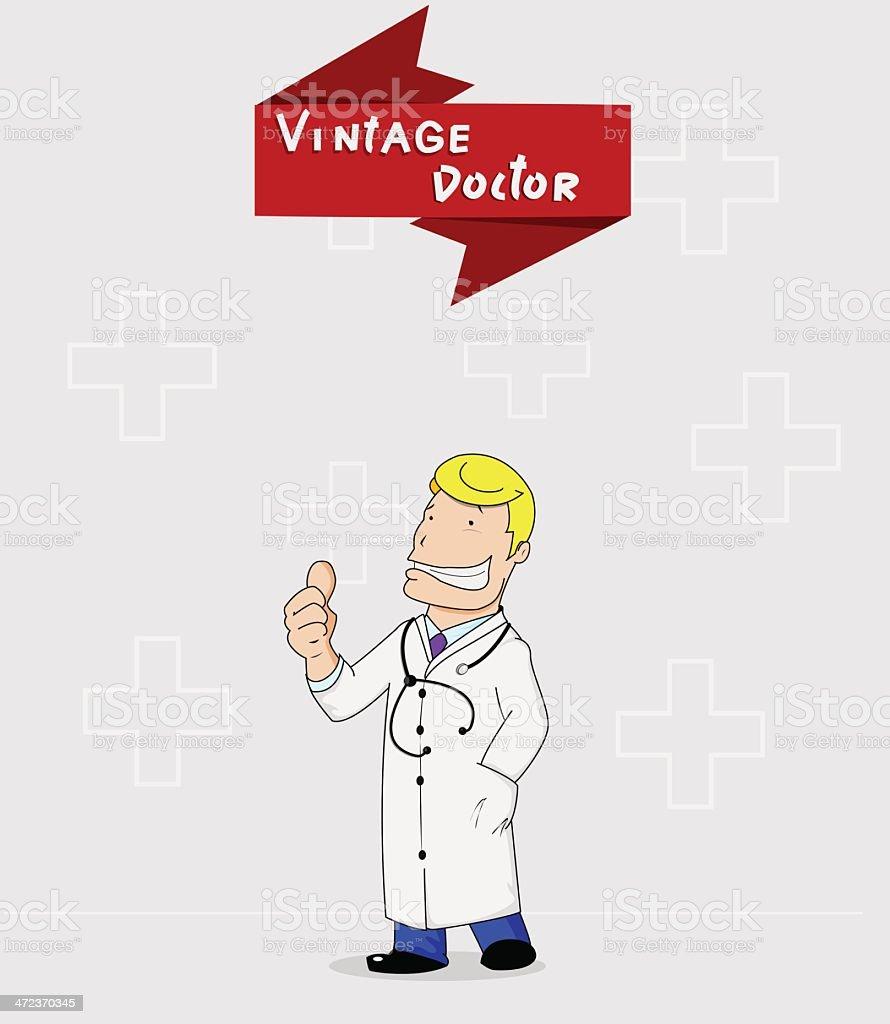Doctor royalty-free stock vector art