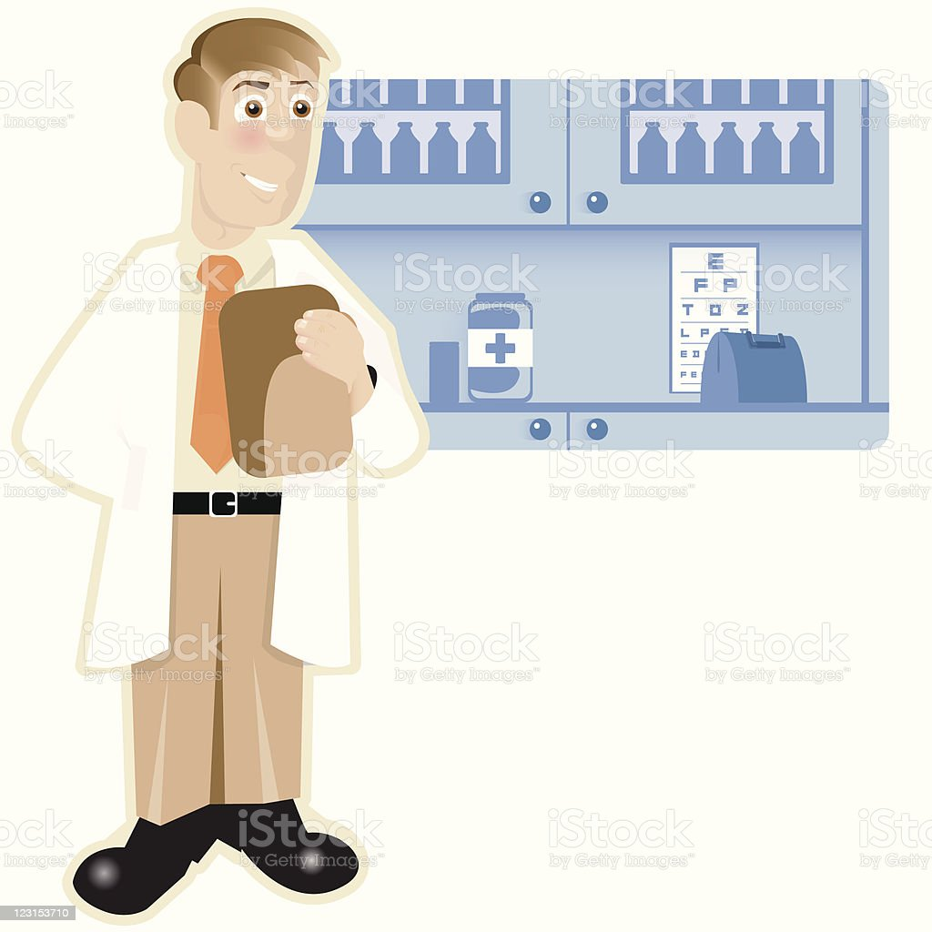 Doctors Office royalty-free stock vector art