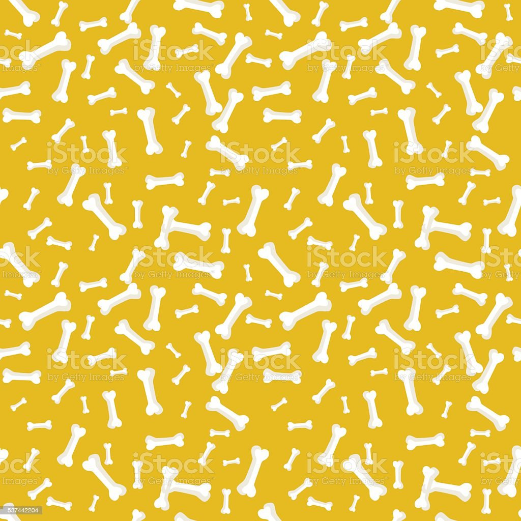 Dog bone Seamless, anilams pattern, vector illustration vector art illustration