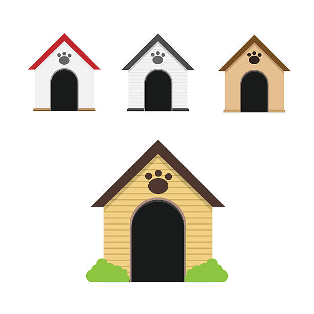 Dog Kennels Illustration
