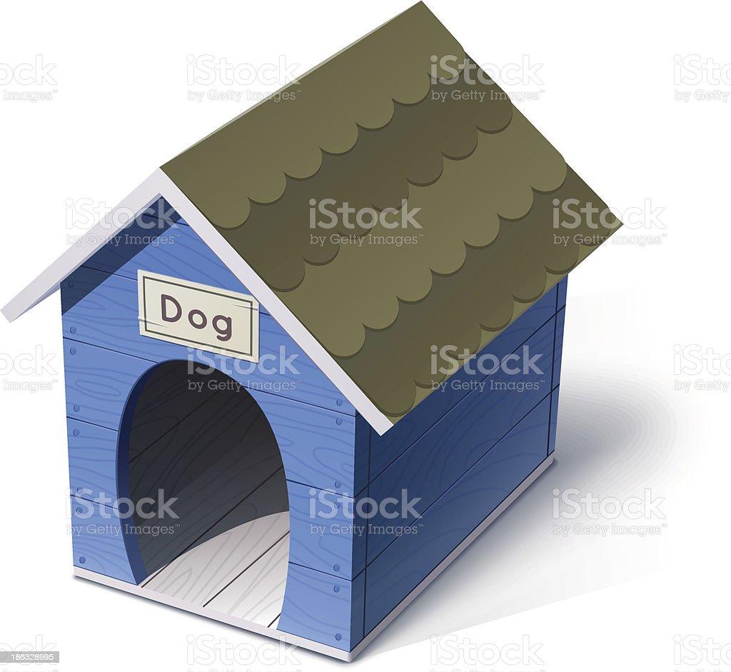 dog house royalty-free stock vector art