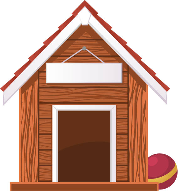 Kennel Clip Art, Vector Images & Illustrations - iStock