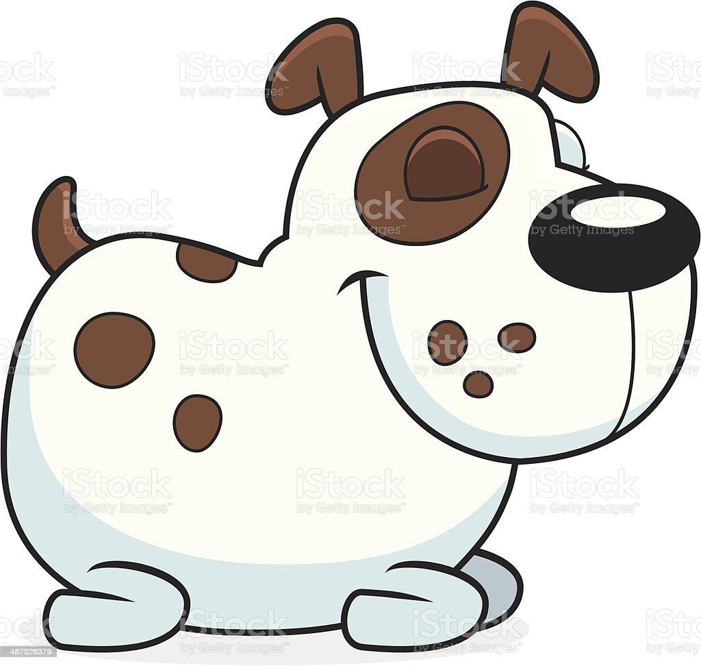 Dog Sleeping royalty-free stock vector art